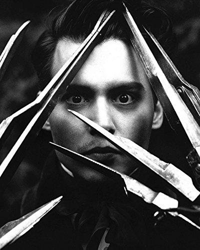 Johnny Depp/Edward Scissorhands 8 x 10/8x10 GLOSSY Photo Picture IMAGE #8