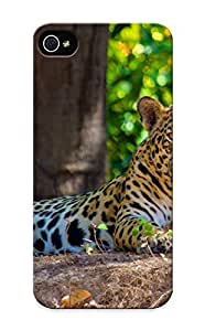 Defender Case With Nice Appearance (Animal Leopard) For Iphone 5/5s / Gift For New Year's Day