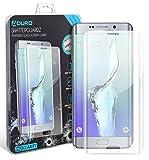 Galaxy S6 Edge Screen Protector, Aduro SHATTERGUARDZ Tempered Glass Screen Protector Ballistic Premium High HD Clarity for Samsung Galaxy S6 Edge