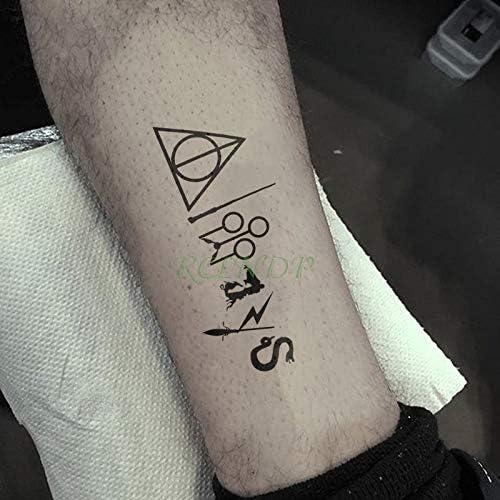 Etiqueta engomada del Tatuaje Temporal Impermeable Egipto Anubis ...