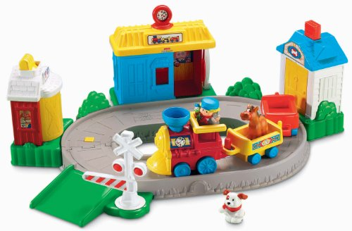 Fisher-Price World of Little People Pop and Surprise Train