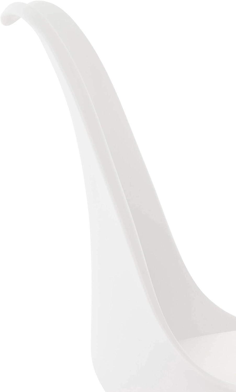 CLP Sedia Scandinava Girevole Calais in Similpelle I Sedia Design Tulip Imbottita Gambe Quadrate in Legno I Sedia Attesa Riunioni Bianco Bianco