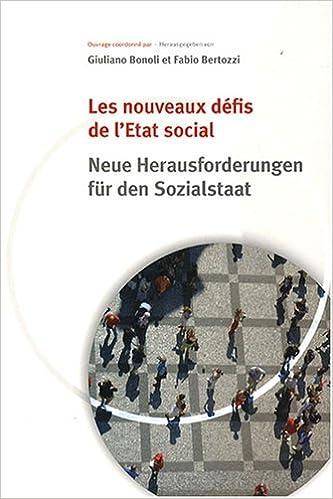 Manuels pdf téléchargement gratuit Les nouveaux défis de l'Etat social by Giuliano Bonoli,Fabio Bertozzi PDF