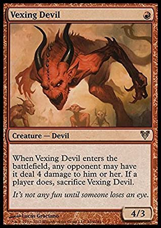 Magic: the Gathering - Vexing Devil (164) - Avacyn Restored ...