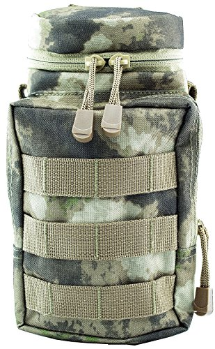 Green Zone MOLLE Utility Pouch & Nalgene Water Bottle Carrier (ATACS) ()
