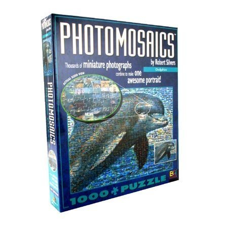 Robert Silver's Photomosaic - Dolphin by Buffalo Games