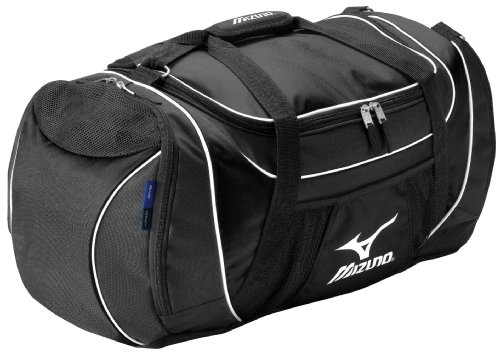Mizuno Tornado Carry All Duffle Bag, Black by Mizuno