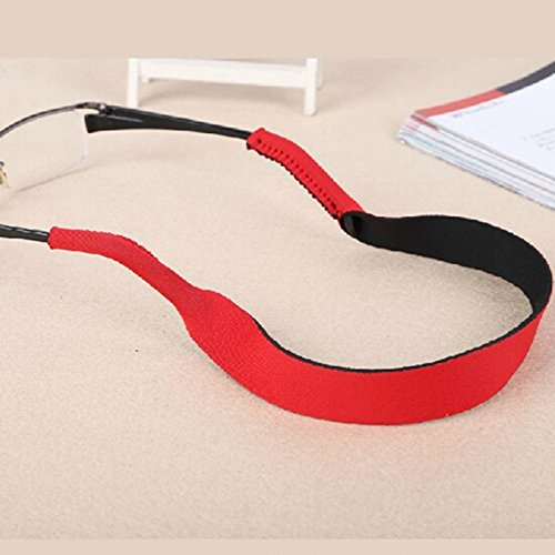 Aowa Lunettes Sangle Cordon de cou Corde Lunettes de sport Bande support de lunettes Corde Liberty Sangle de lunettes de sport Green