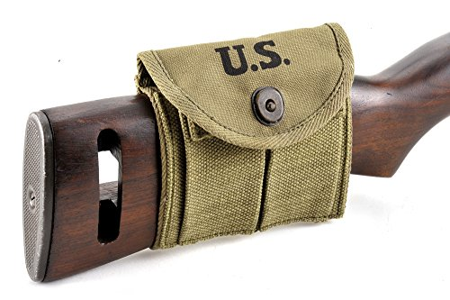 M1 Carbine Buttstock Type Pouch Lt. OD Green Marked for sale  Delivered anywhere in USA