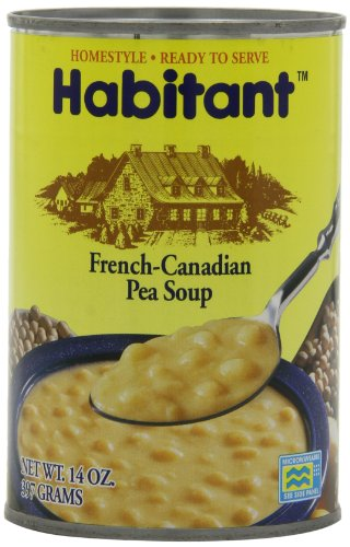 French Soup - Habitant Soup, French-Canadian Pea, 14 Ounce (Pack of 12)
