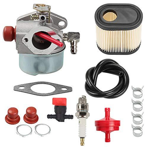 (Hayskill 640350 Carburetor Replace Tecumseh 640350 640303 640271 for Toro Recycler 640271 640303 LV195EA LEV100 LEV105 LEV120 20016 20017 20018 6.75 HP Toro Lawnmowers)