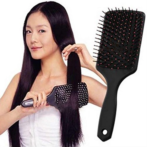 Healthy Paddle Cushion Hair Loss Massage Brush Hairbrush Comb Scalp HOT SALE (Vidal Sassoon Ionic Brush)