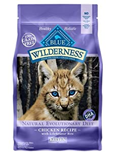 Blue Buffalo Wilderness Chicken Recipe 11 lb Dog Food