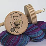 Knitting Sheep Drop Spindle Handmade Spinning Beginner Spindle for Spinning Yarn Hand Spinning