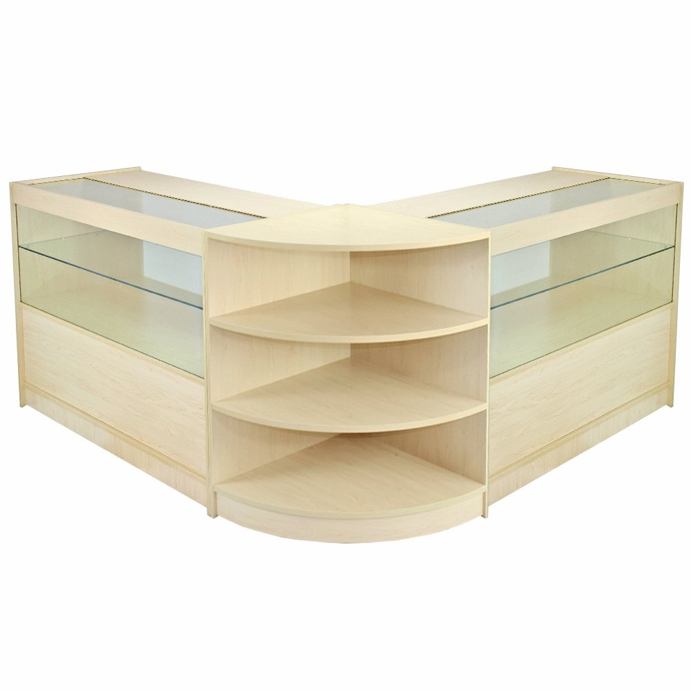 MonsterShop Orion Retail Display Shop Counters Set & Glass ...