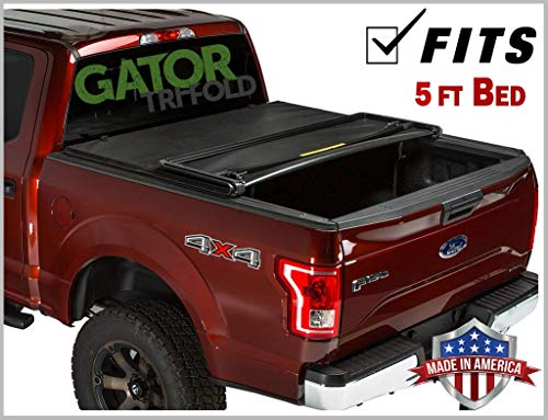 Gator ETX Soft Tri-Fold Truck Bed Tonneau Cover | 59317 | fits Ford Ranger (5') 2019