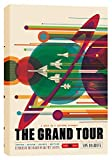"""Epic Graffiti EPIC-CA1218182 """"Visions of The Future:The Grand Tour"""" Giclee Canvas Wall Art, 12"""" X 18"""" """"Visions of The Future:The Grand Tour"""" 12"""" X 18"""",Multi"""