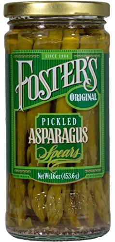 Foster's Pickled Asparagus Original 16oz (3 Pack)