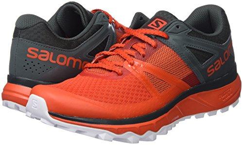Chaussures Salomon Cerise Course Chic Urbain Pour Blanc De Trail Rouge tomate Hommes Trailster BIrCBqnaAw