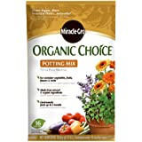 Miracle-Gro 72986510 Organic Choice Potting Mix, 16-Quart (currently ships to select Northeastern & Midwestern states)