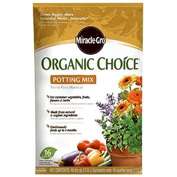 Miracle-Gro Scotts - Fertilizante para orgánico orgánicos grupo 72986510 elección para orquídea, 16-qts.: Amazon.es: Jardín