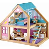 Serra Baby Toy Wooden Baby House 13 Accessories