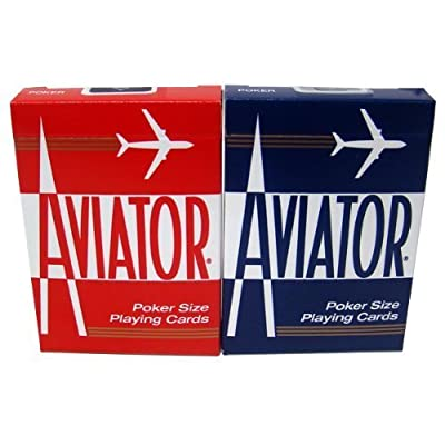 Quality Aviator Casino Playing Cards - 2 Decks: Sports & Outdoors