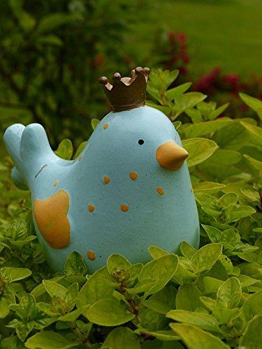 Fig Ceramics (Home Comforts LAMINATED POSTER Gartendeko Garden Bird Wren Fig Ceramic Poster 24x16 Adhesive Decal)