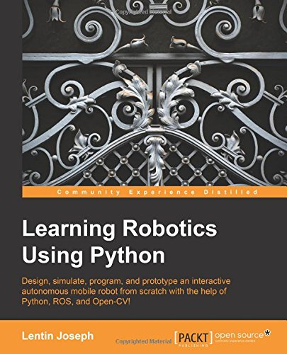 Learning Robotics Python Lentin Joseph product image