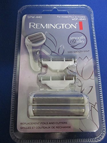 Remington Replacement Foil & Cutters Set SPW-440 for the Smooth & Silky Shaver Model WDF-4840 by Remington