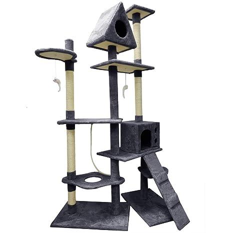 El árbol de Gato de Fellie Rascador de Gatos centros de Actividades rascador Poste multinivel Cat