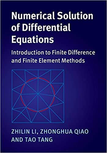 Amazon com: Numerical Solution of Differential Equations