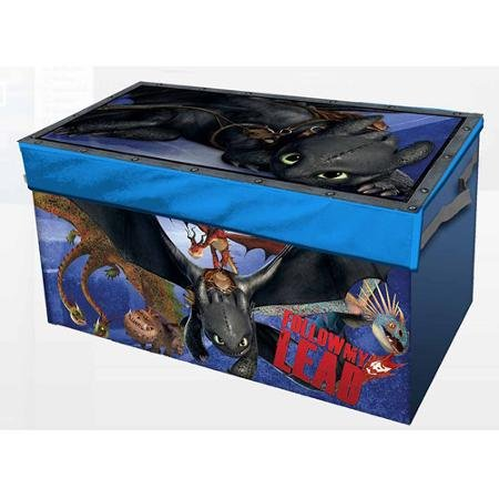 How to Train Your Dragon 2 Collapsible Storage Trunk Lightweight, Durable and Kid Friendly