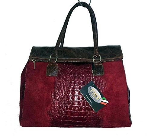 Marros Suede Leather Bag