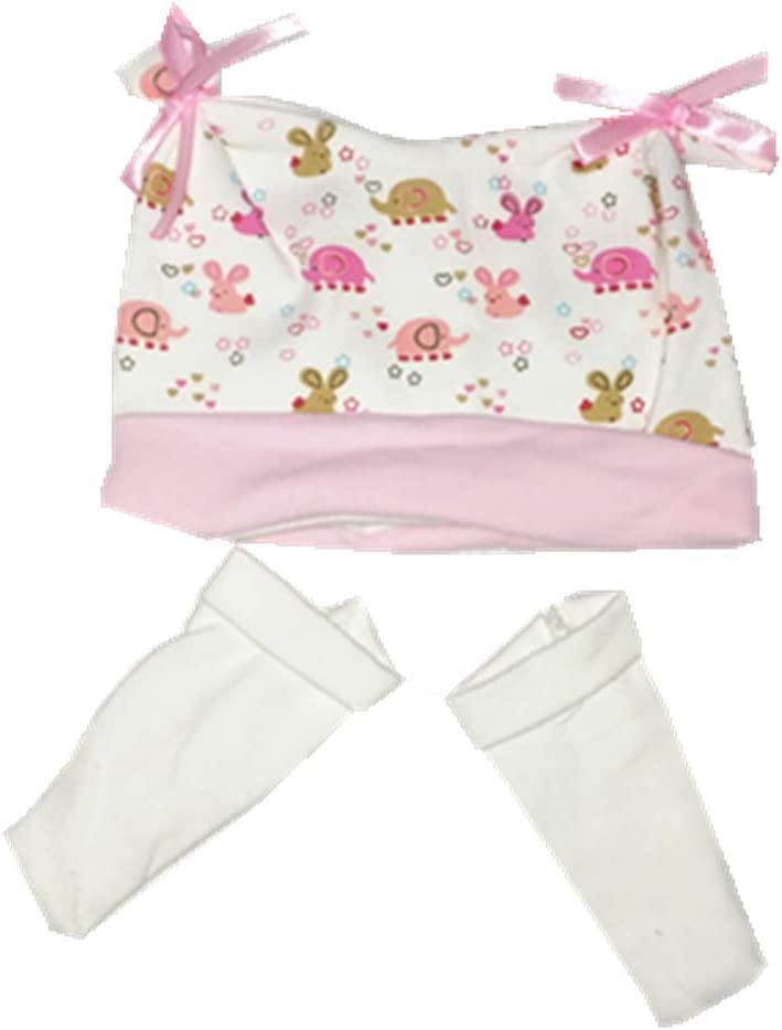 SaniMomo 5pcs Reborn Baby Girl Doll Clothes Newborn Clothing Suit Doll Accessories