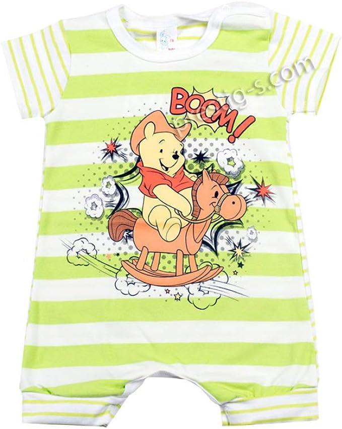 Pelele para bebé de manga corta de algodón de color blanco y multicolor. blanco y multicolor 50 cm (recién nacido): Amazon.es: Ropa y accesorios
