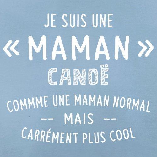 une maman normal canoë - Femme T-Shirt - Bleu Ciel - L