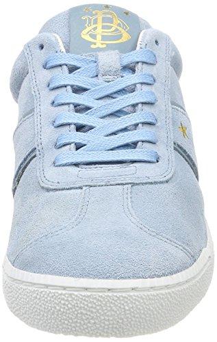 D'oro Sneaker blu Barletta Pantofola Suede Donna Donne Chiaro Blu Low dqnSXgafw