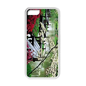 Personalized Creative Cell Phone Case For iPhone 6 (4.5),glam spring parks beauty scene