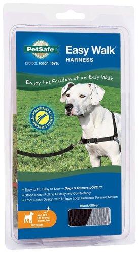 Easy Walk Harness – Medium, Black, My Pet Supplies
