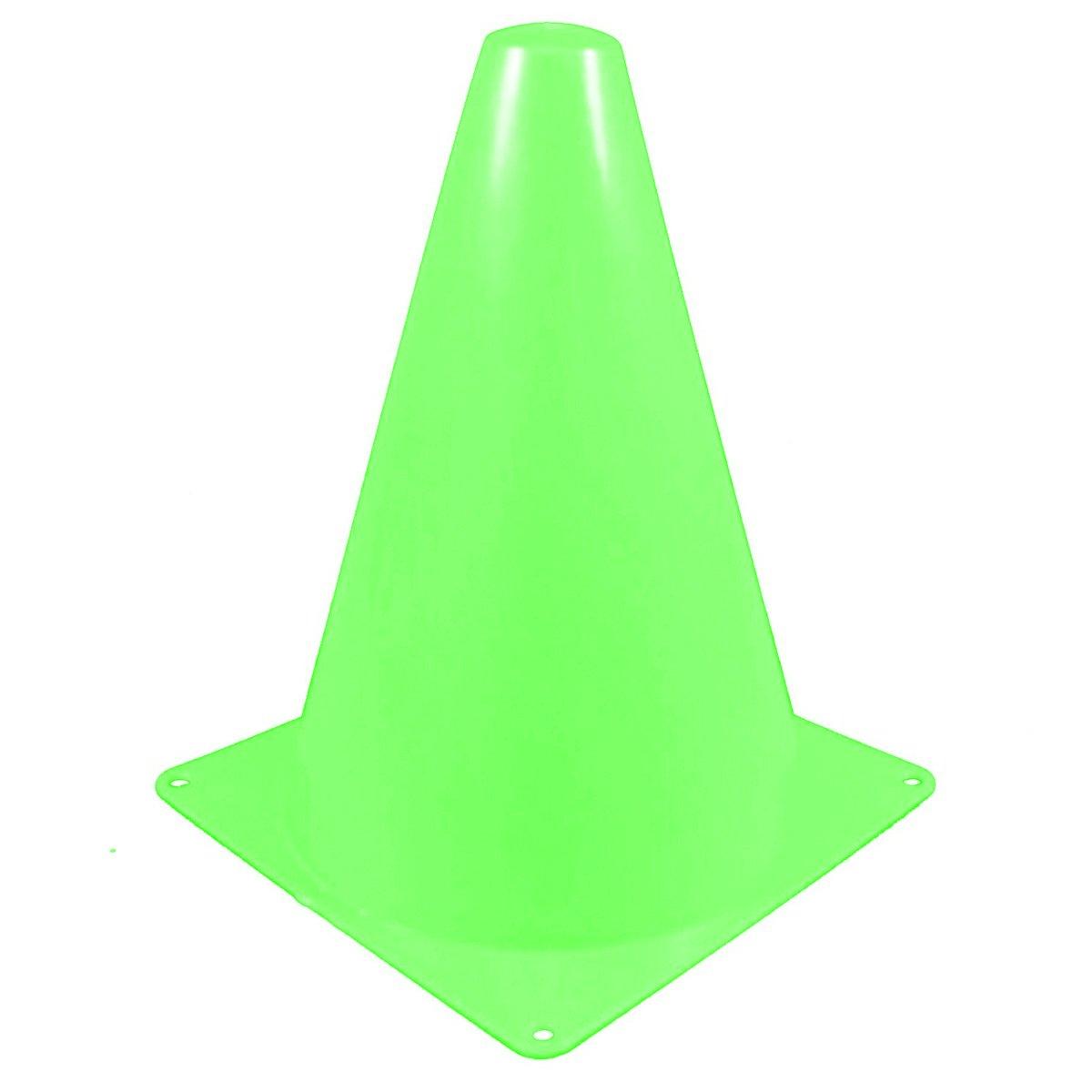 Cikuso 7 Pollice Corona dei Coni del segnalatore/Coni di Pista di Calcio & Calcio (10 pz/Set) Verde Chiaro