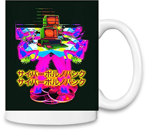 CYBER PORN PUNK 2 Unique Coffee Mug | 11Oz Ceramic Cup| The Best Way To Surprise Everyone On Your Special Day| Custom Mugs By Bang Bangin