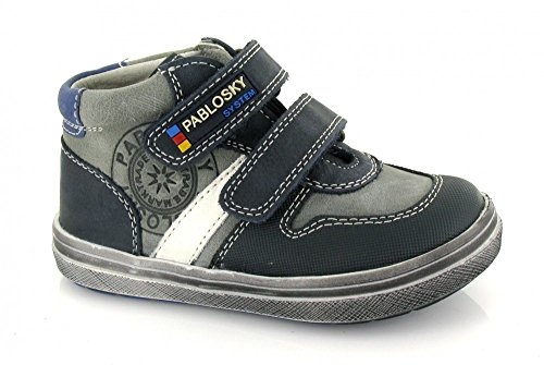 Pablosky Grisaceo Azul Stiefel Blau Jungen