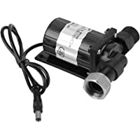 Bomba de agua sumergible DC sin escobillas DC12V 10W - Opere dentro/fuera de agua fría o caliente, bajo nivel de ruido y bajo consumo