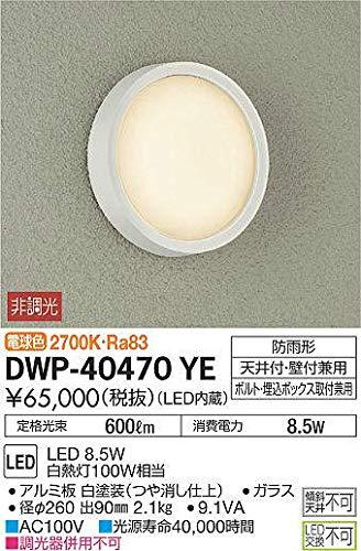 大光電機(DAIKO) / アウトドアライト DWP-40470YE (LED内蔵) B07SPHF4JS
