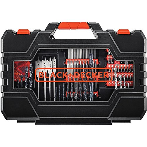 BLACK+DECKER BDA90201 201-Piece Screwdriver & Drill Bits Set