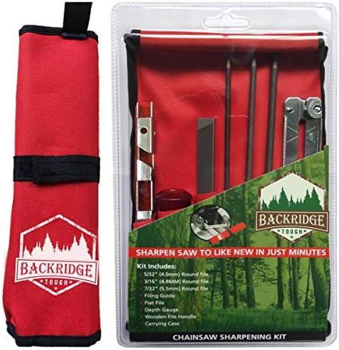 3 Pcs Chainsaw Files Round Sharpening Saw Chain Sharpener Woodworking Kit Tool