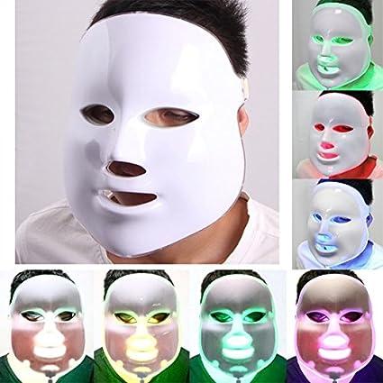 Mascara LED rejuvenecimiento, acné 7 Colores!
