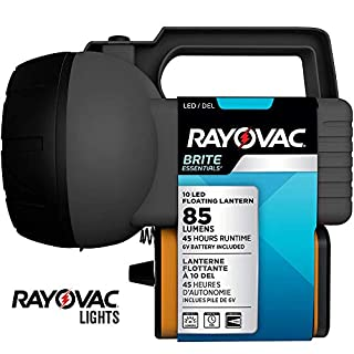 Rayovac 10 LED Lantern, Floating Camping Lantern with Battery Included - Perfect for Power Outages, Emergency Situations, Camping, Hiking, Hurricanes (B00C1UXCX4) | Amazon price tracker / tracking, Amazon price history charts, Amazon price watches, Amazon price drop alerts