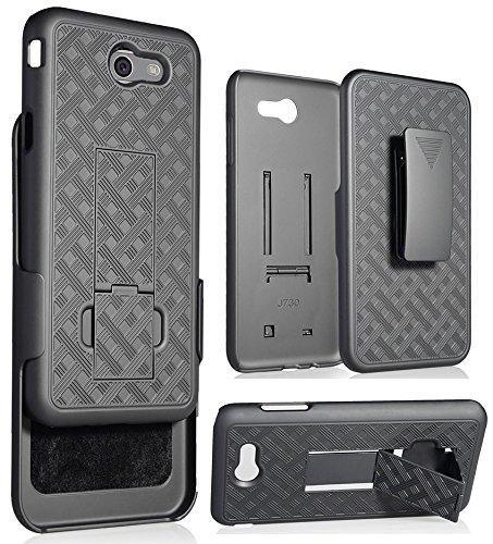 low priced 50dc0 123ea Amazon.com: Galaxy J7 Perx/Sky Pro/J7 V Case Clip, NAKEDCELLPHONE'S ...